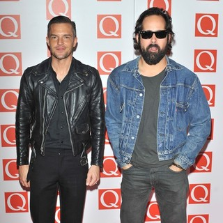 The Killers in The Q Awards 2012 - Arrivals - the-killers-q-awards-2012-02