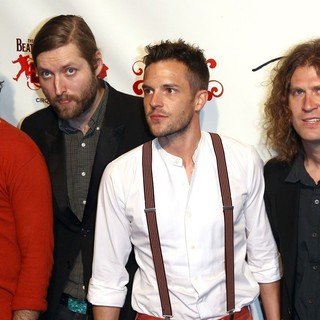 The Killers in The Beatles LOVE by Cirque du Soleil Fifth Anniversary Celebration