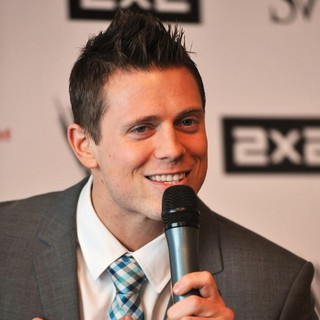 The Miz in A Press Conference for WWE