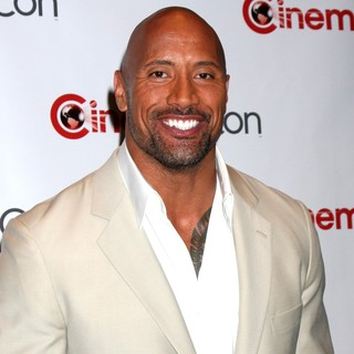 The Rock in Paramount Pictures Host Opening Night Presentation and Party at CinemaCon 2012