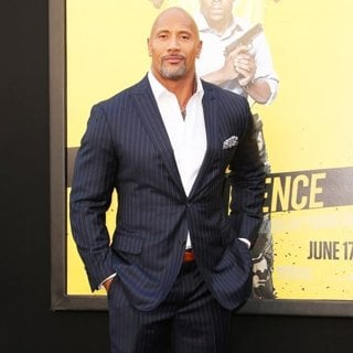 The Rock in Premiere of Warner Bros. Pictures Central Intelligence - Arrivals