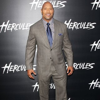 The Rock in Los Angeles Premiere of Hercules - Arrivals