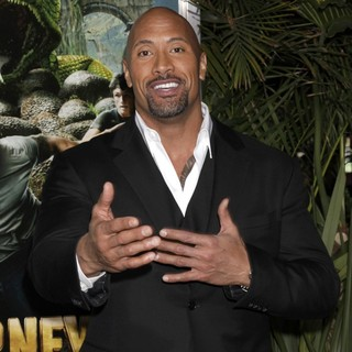 The Rock in The Los Angeles Premiere of Journey 2: The Mysterious Island - Arrivals