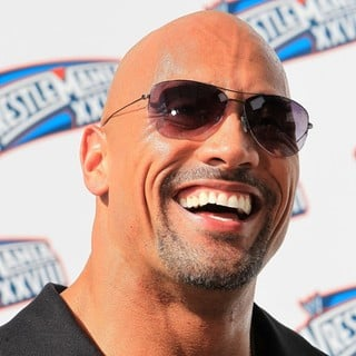 The Rock in The Press Conference for WrestleMania XXVIII