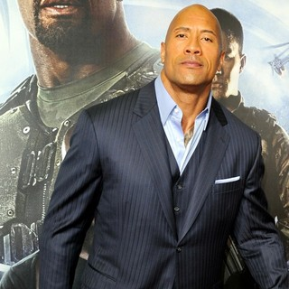 The Rock in G.I. Joe: Retaliation - Sydney Premiere