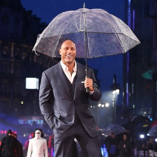 The Rock in U.K. Film Premiere of G.I. Joe: Retaliation - Arrivals