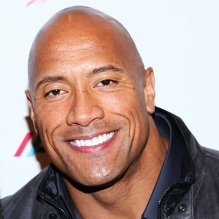 The Rock in WWE Superstars for Sandy Relief - Arrivals