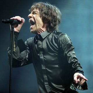 Mick Jagger, The Rolling Stones in The 2013 Glastonbury Festival