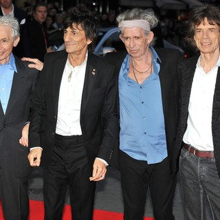 The Rolling Stones in 56th BFI London Film Festival - The Rolling Stones: Crossfire Hurricane - Gala Screening - Arrivals