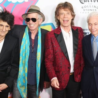 The Rolling Stones - The Rolling Stones Exhibitionism Opening Night - Arrivals