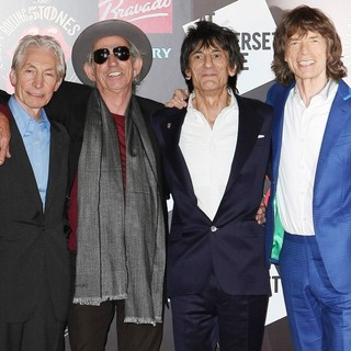 The Rolling Stones in Photocall Celebrating The 50th Anniversary of The Rolling Stones