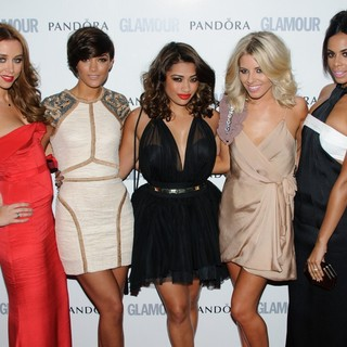 The Saturdays in The Glamour Women of The Year Awards 2011 - Arrivals