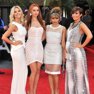 The Saturdays, Mollie King, Una Healy, Vanessa White, Frankie Sandford in The Hangover Part III - European Film Premiere