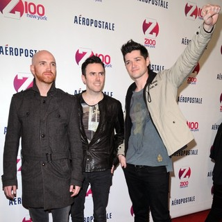 The Script in Z100's 2011 Jingle Ball Presented by Aeropostale - Arrivals