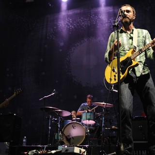 Joe Plummer, James Mercer, The Shins in The Shins Perform at Molson Canadian Amphitheatre