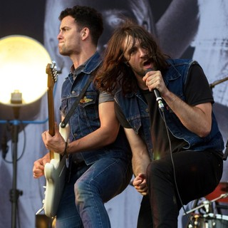 Freddie Cowan, Justin Young, The Vaccines in Leeds Festival 2012 - Day Three