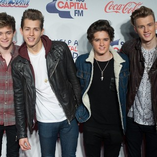 The Vamps in The Capital FM Jingle Bell Ball 2013 - Day 2 - Arrivals