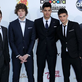 The Wanted in 2012 Billboard Music Awards - Arrivals