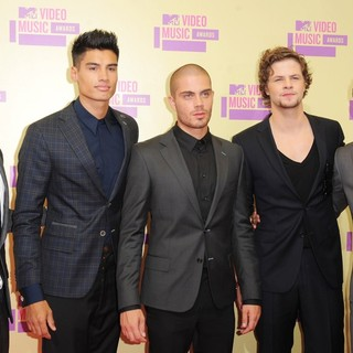 The Wanted in 2012 MTV Video Music Awards - Arrivals