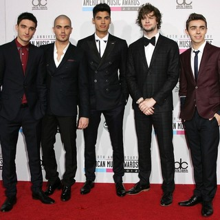 The Wanted in The 40th Anniversary American Music Awards - Arrivals