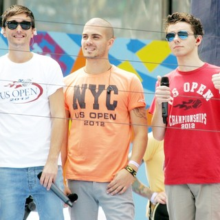 Tom Parker, Max George, Nathan Sykes, The Wanted in Arthur Ashe Kids Day 2012