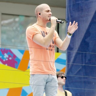 Max George, The Wanted in Arthur Ashe Kids Day 2012