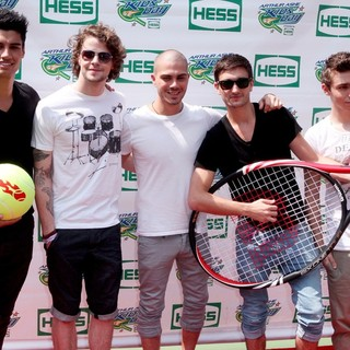 The Wanted in Arthur Ashe Kids Day 2012