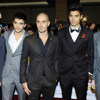 The Wanted in The Daily Mirror Pride of Britain Awards 2012 - Arrivals