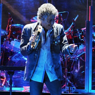 Roger Daltrey, The Who in The Who Perform on Opening Night of The Quadrophenia Tour