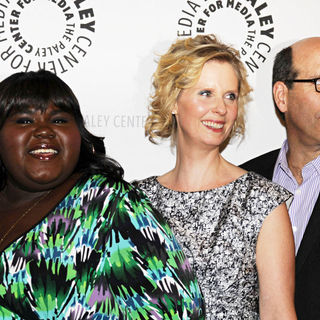 Gabourey Sidibe, Cynthia Nixon in 'The Big C' Cast Attends A Special Screening