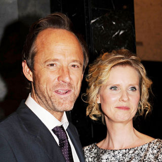 John Benjamin Hickey, Cynthia Nixon in 'The Big C' Cast Attends A Special Screening