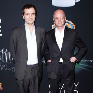 David Heyman, David Barron in Warner Brothers Pictures Presents 'The Big Picture 2011' Event - Arrivals