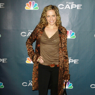 "Arianne Zucker in Premiere Party for ""The Cape"""