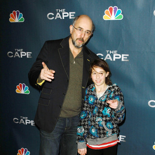 "Richard Schiff, Ruby Schiff in Premiere Party for ""The Cape"""