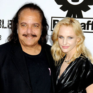 Ron Jeremy, Phoebe Dollar in Los Angeles Premiere of 'The Expendables'