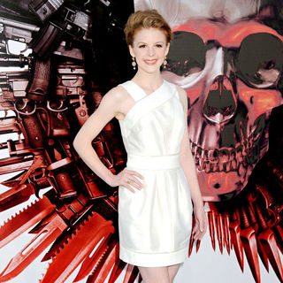 Ashley Bell in Los Angeles Premiere of 'The Expendables'