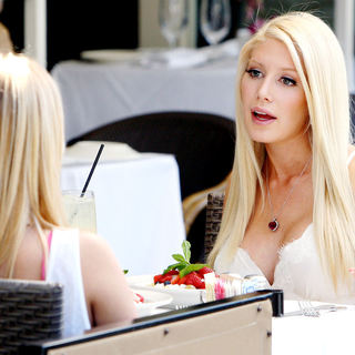 Heidi Montag - MTV Reality Show 'The Hills' filming on location