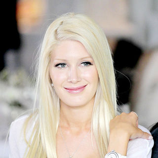 Heidi Montag - MTV reality TV show 'The Hills' filming on location