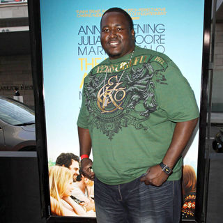 Quinton Aaron in 2010 Los Angeles Film Festival Opening Night Premiere 'The Kids Are All Right'