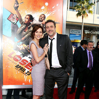 "Hilarie Burton, Jeffrey Dean Morgan in The LA Premiere of ""The Losers"""