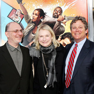 "Akiva Goldsman, Ted Kennedy Jr. in The LA Premiere of ""The Losers"""