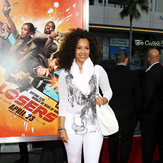 "LisaRaye McCoy in The LA Premiere of ""The Losers"""