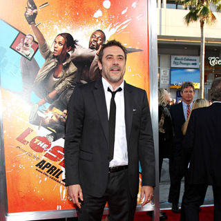"Jeffrey Dean Morgan in The LA Premiere of ""The Losers"""