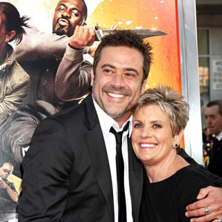 "Jeffrey Dean Morgan, Sandy Thomas in The LA Premiere of ""The Losers"""