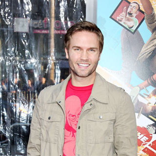 "Scott Porter in The LA Premiere of ""The Losers"""