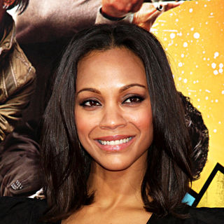 "Zoe Saldana in The LA Premiere of ""The Losers"""