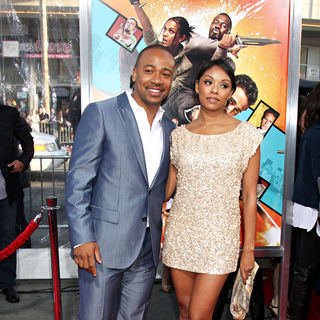 "Columbus Short in The LA Premiere of ""The Losers"""