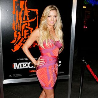Erika Jayne in The Los Angeles Premiere of 'The Mechanic' - Arrivals