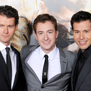 James Badge Dale, Joe Mazzello, Jon Seda in Los Angeles Premiere of HBO's new mini series 'The Pacific'