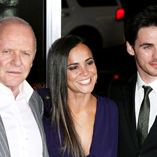 "Anthony Hopkins, Alice Braga, Colin O'Donoghue in Los Angeles Premiere of Warner Bros' ""The Rite"""